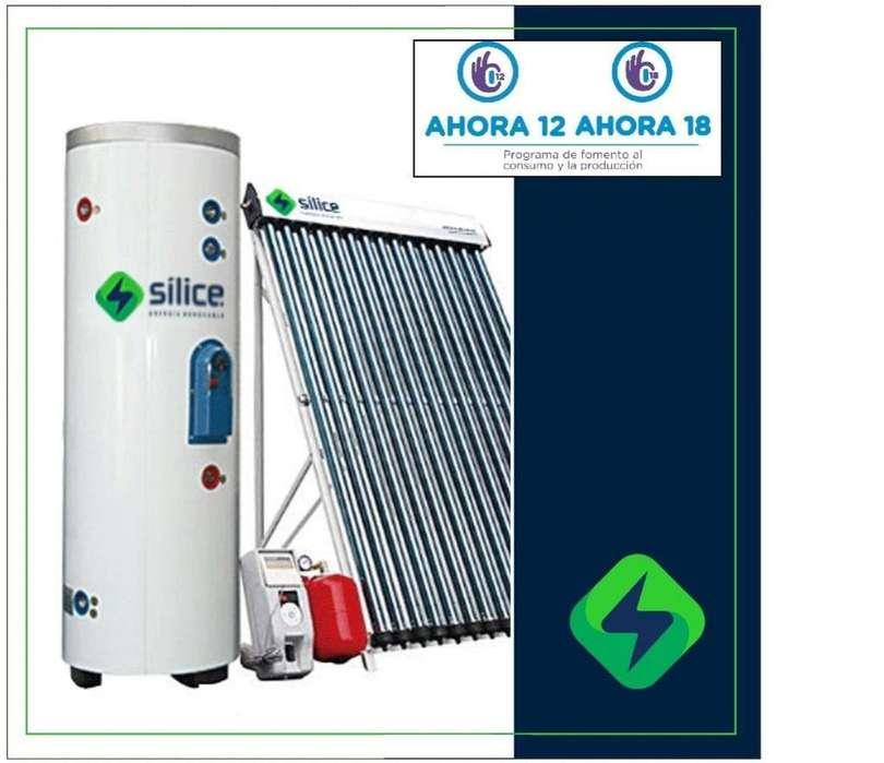 Termotanque Solar para Calefacción DUAL Split 300l Sílice