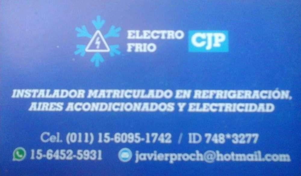 Instalador y reparador matriculado de aires acondicionados, servicio con garantia profesional de trabajo