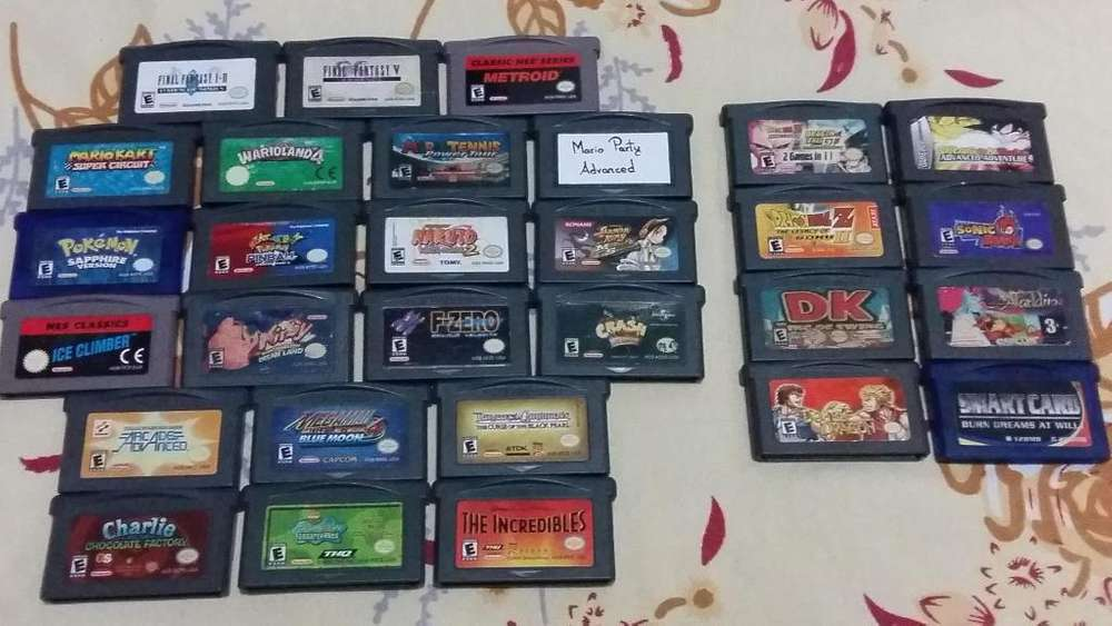 Juegos Game Boy Nintendo Gameboy Gba