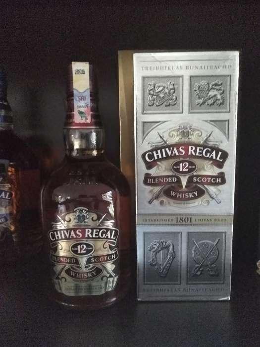 Whisky Chivas Regal 750ml