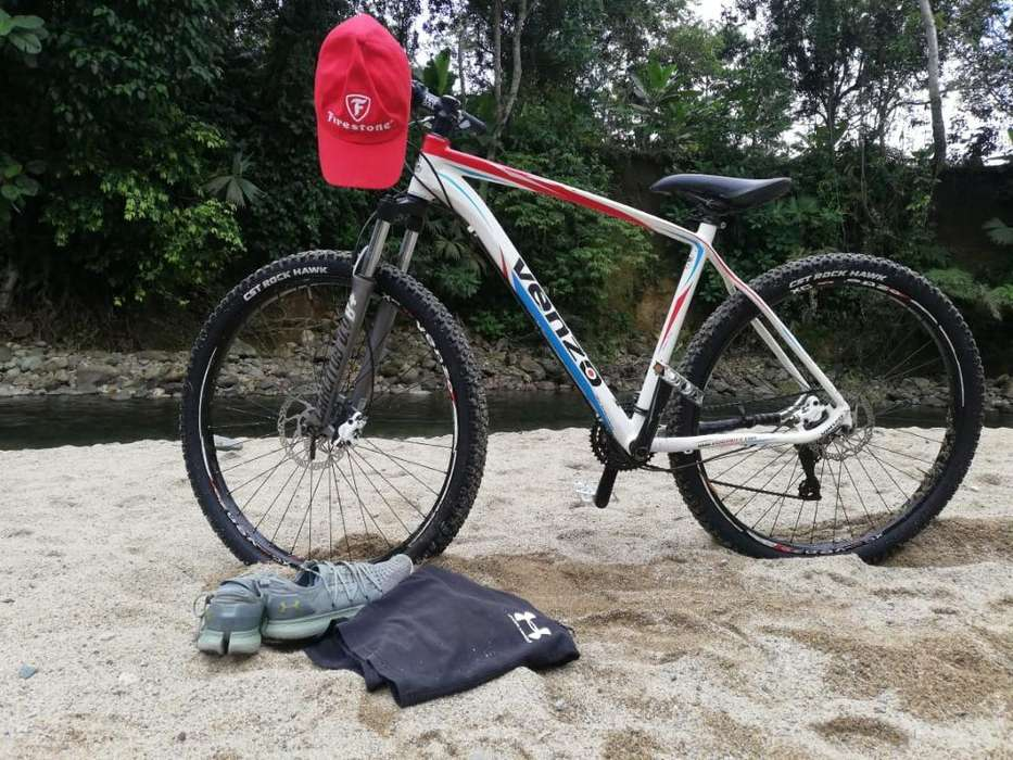 Bicicleta Venzo Rin 29 - Componentes Shi