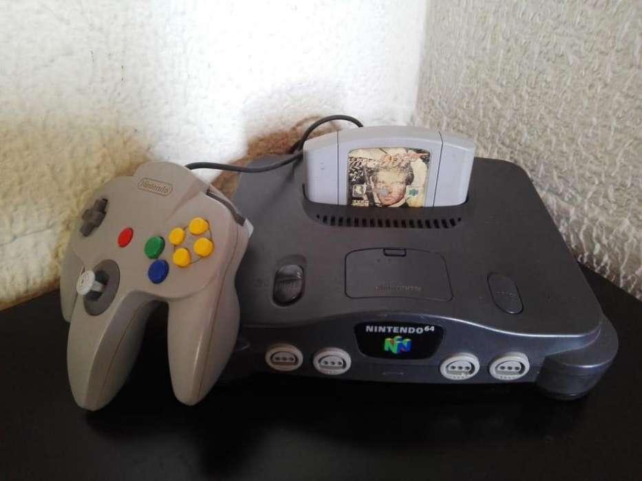 Nintendo 64 Original con GoldenEye