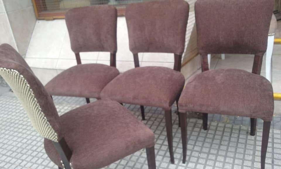 regias <strong>sillas</strong> restauradas por completo en floresta