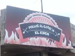 VENDO ASADERO DE POLLO, DE OPORTUNIDAD