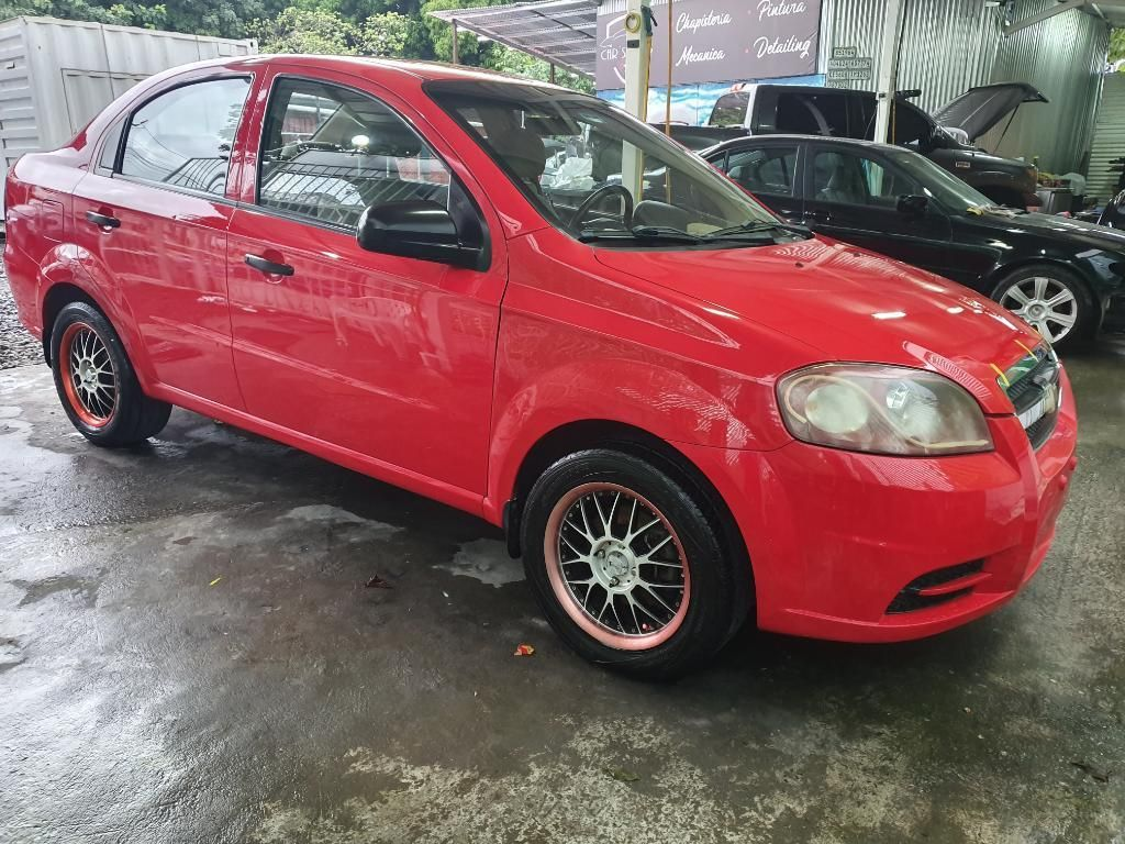 Chevrolet Aveo 2011 Impecable Manual