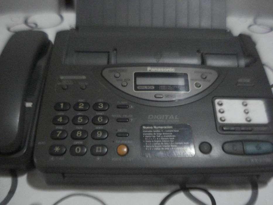 <strong>fax</strong> Panasonic Kx F700 Papel Termico Funcionando Buen Estado