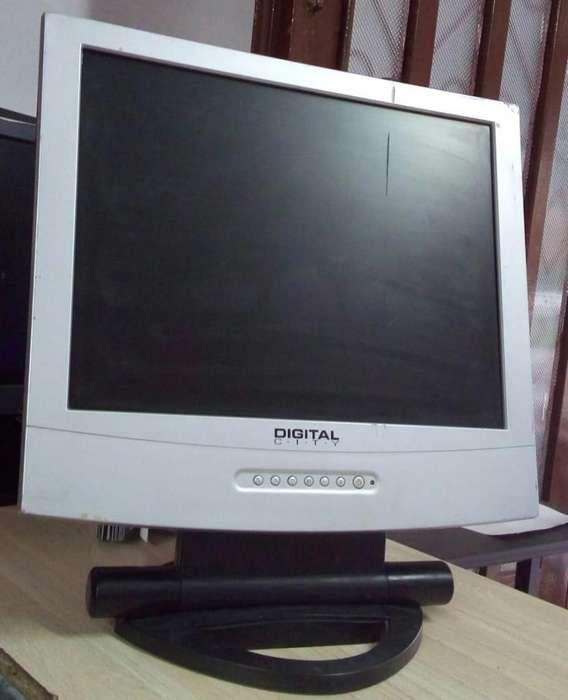 ¡BARATO! monitor de 15'' (pulgadas), LCD