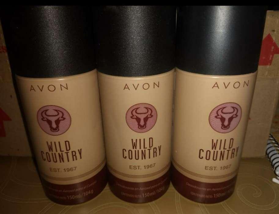 Wild Country Desodorantes Avon