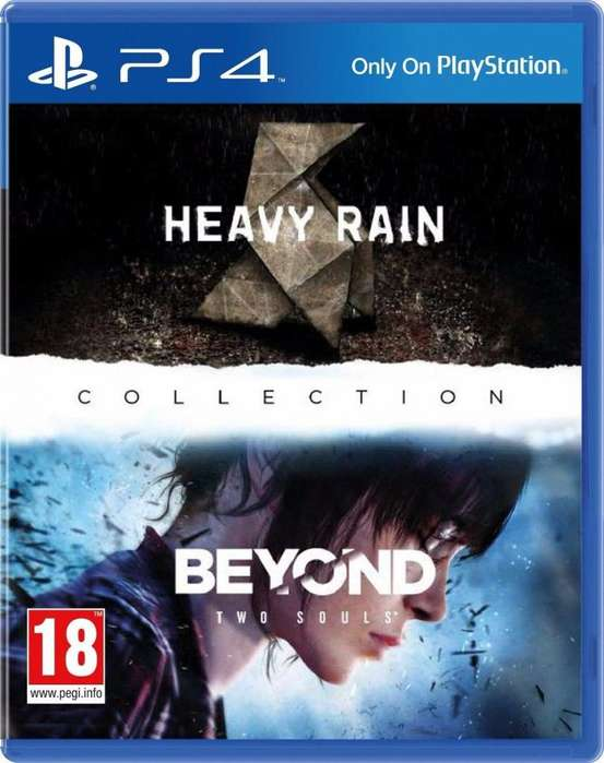 Heavy Rain Beyond two souls Collection PS4 Fisico Usado