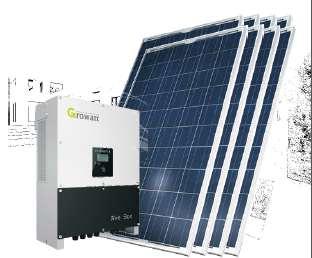 KIT GENERACION ENERGÍA SOLAR 12kWp PC12000-T440