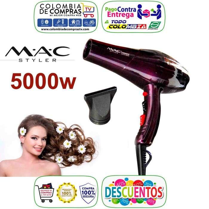 Secador Cabello Profesional 5000w Mac Styler Boquilla, Nuevos, Originales, Garantizados.