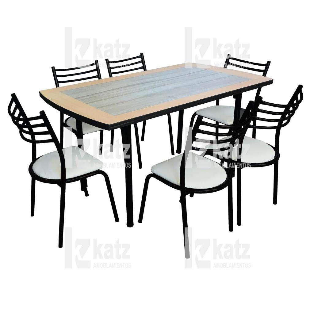 Combo mesa y 6 sillas / Directo de fabrica / Living Cocina ...