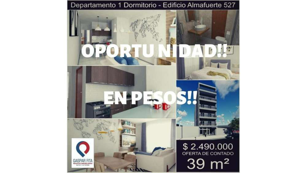 En Venta!! Edificio Almafuerte! 100 - 2.490.000 - Departamento en Venta