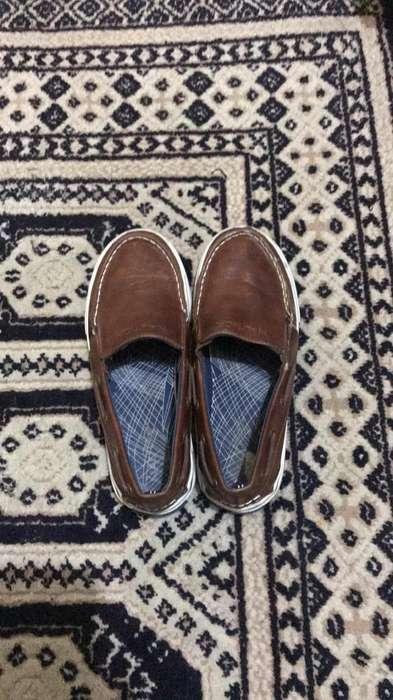 NEGOCIABLE Zapatos Niño Originales Nautica Talla 32