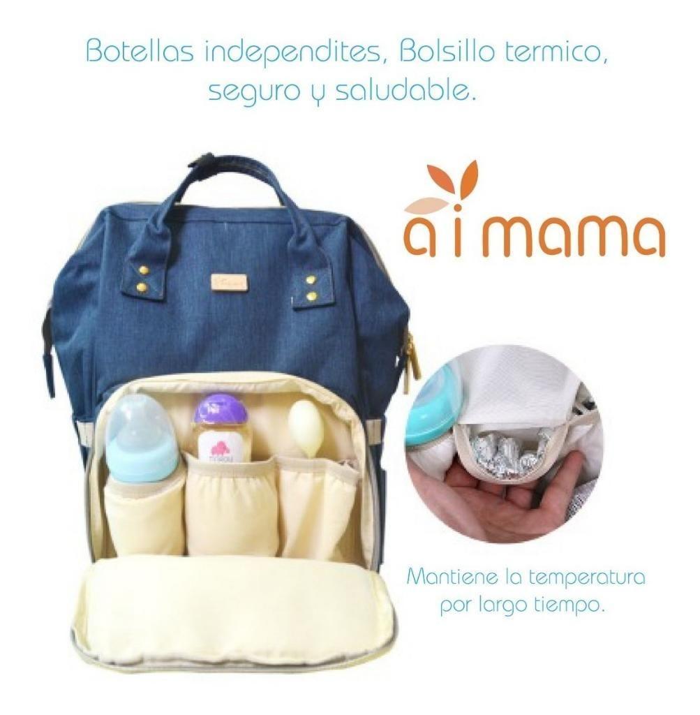 Mochila Pañalera Multifuncional Mamas