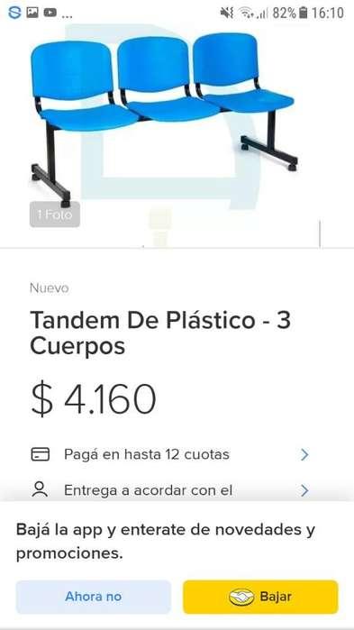 Vendo Sillas Tamden El Par