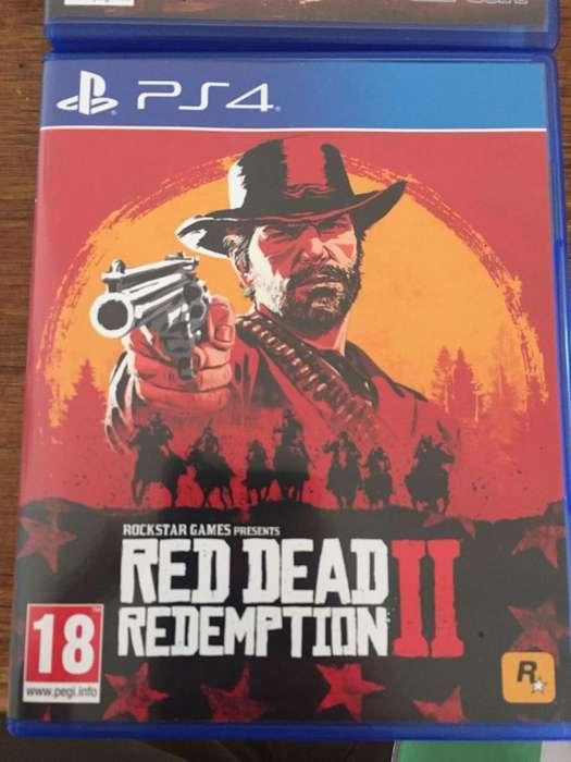 Red Dead Redemption 2 Ps4 Como Nuevo