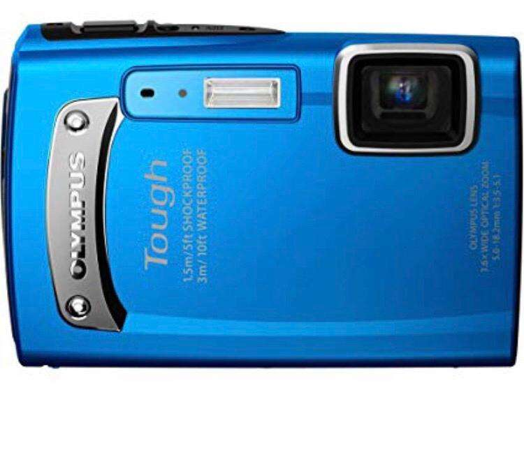 Camara <strong>olympus</strong> Tough- Waterproof