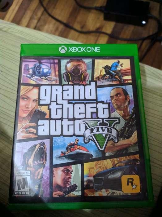 Gta V Juego Xbox One No Cambios