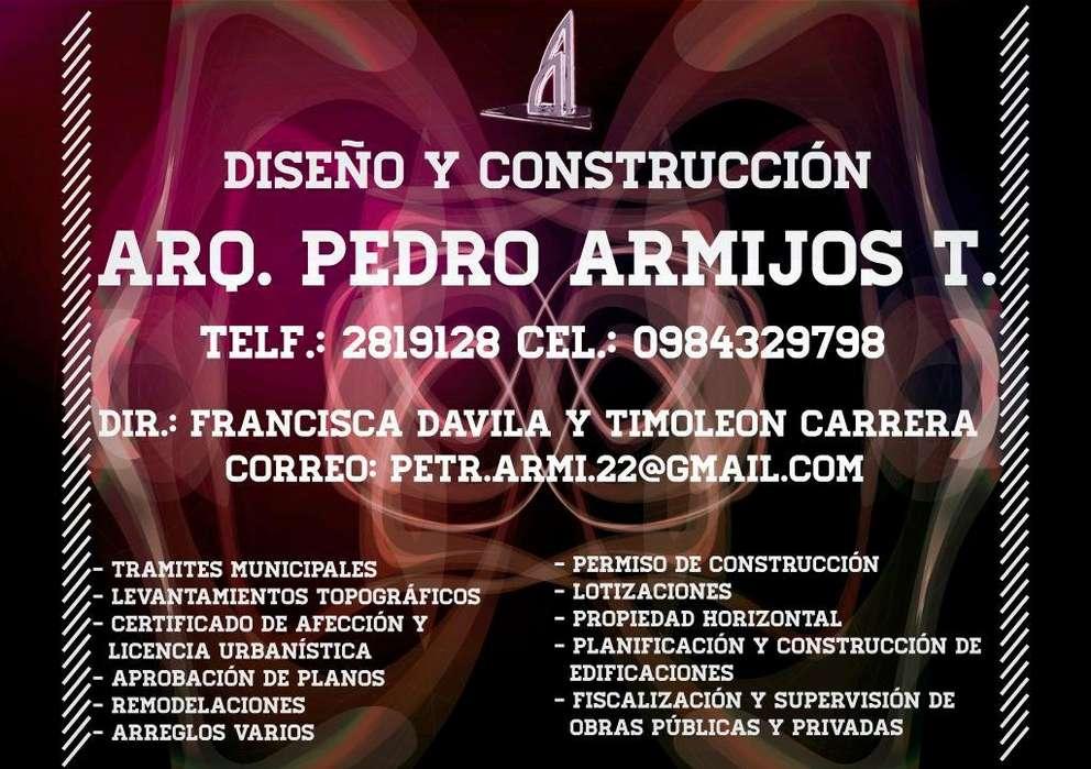Arquitecto Diseño y Construccion