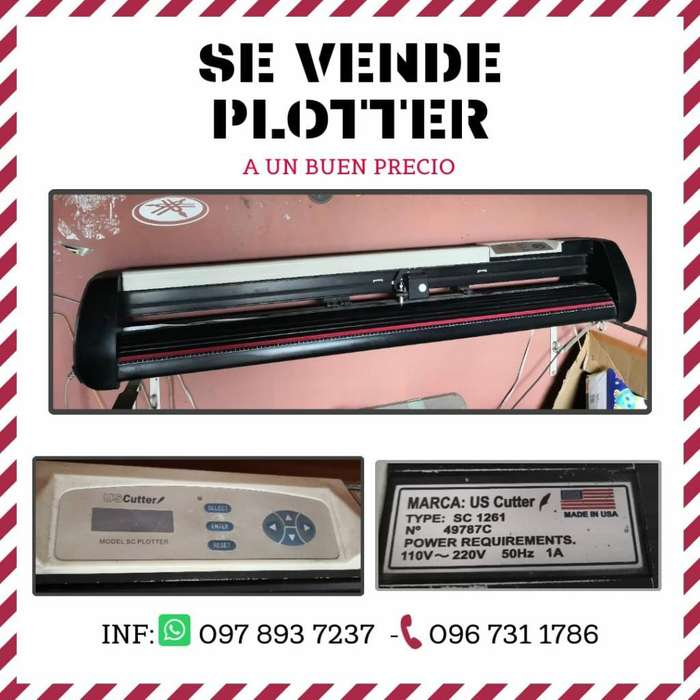 Se Vende Plotter Us Cutter, Buen Estado