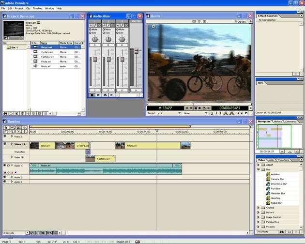 ADOBE PREMIER 6 EDITOR DE VIDEO PROFESIONAL CHAVEZ COMPUTACION