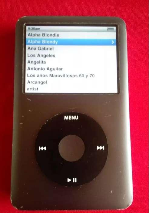 Apple Ipod Classic 7ma generacion 160 Gigas