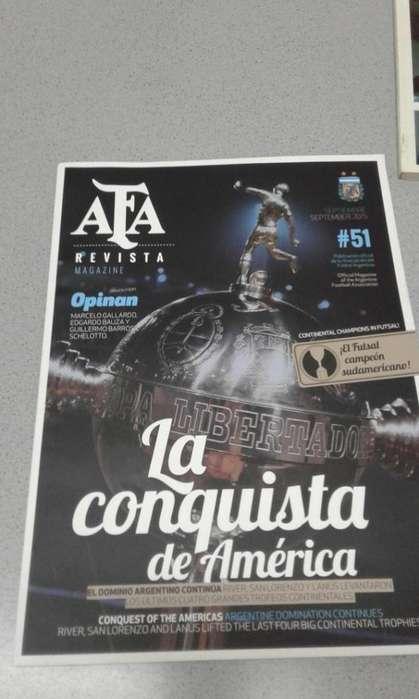 14 REVISTAS AFA INSTITUCIONALES. Absolutamente colección. Bilingue. Papel ilustración. Números históricos