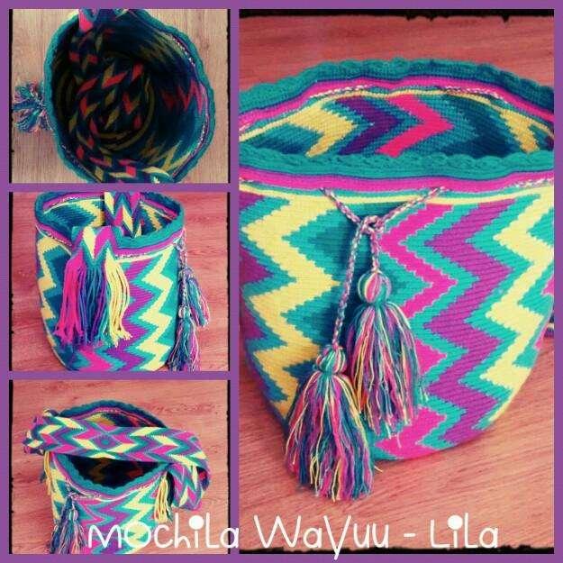 Mochilas Finas Wayuu