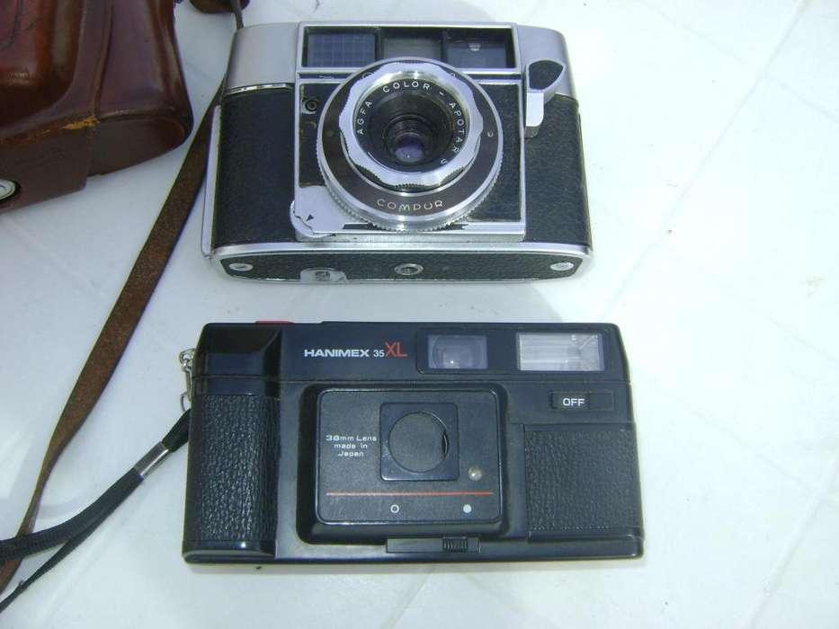 vendo camaras de foto agfa alemana y hanimax xl 35