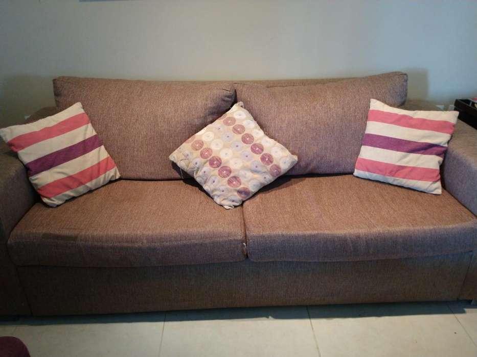 Sofa de 3 Cuerpos Usado en Buen Estado