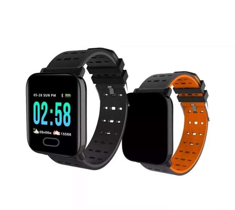 Banda Inteligente Smart Watch A6