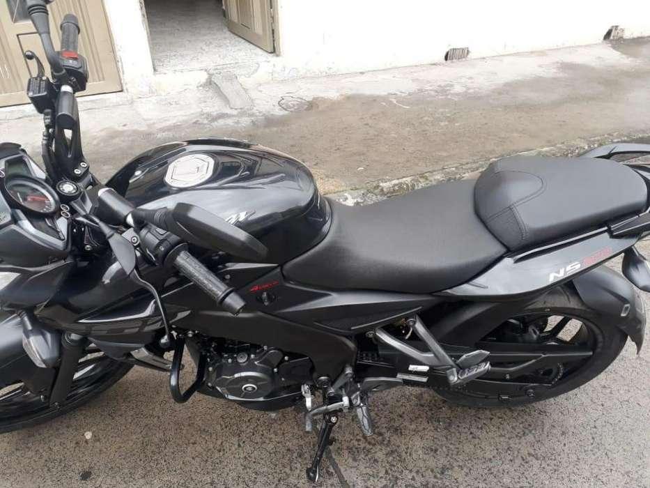 Vendo Moto Pulsar NS 200 2019