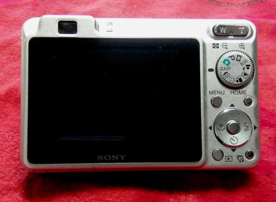 Camara Fotografica Digital Sony 8.1 Mega pixeles
