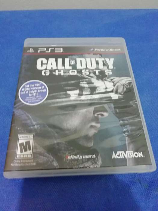 Vendo Juego Call Of Duty Ghosts