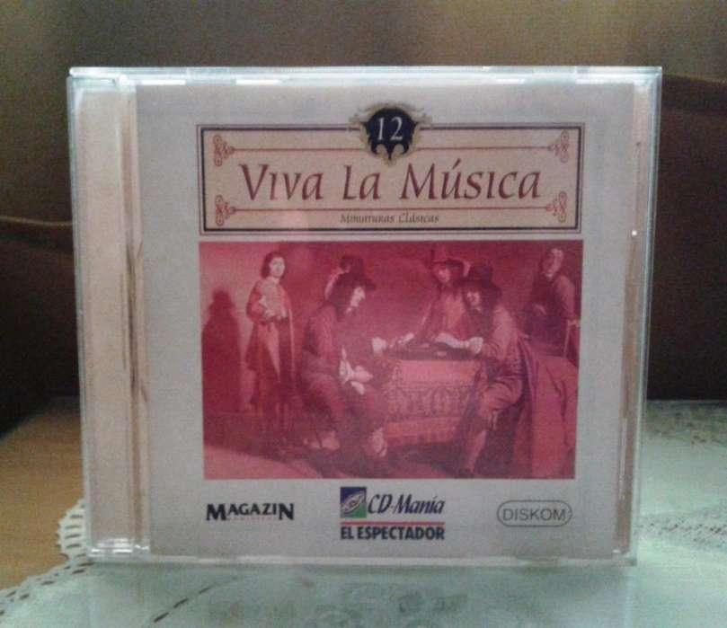 Cd Viva La Mùsica: Mimaturas Clásicas
