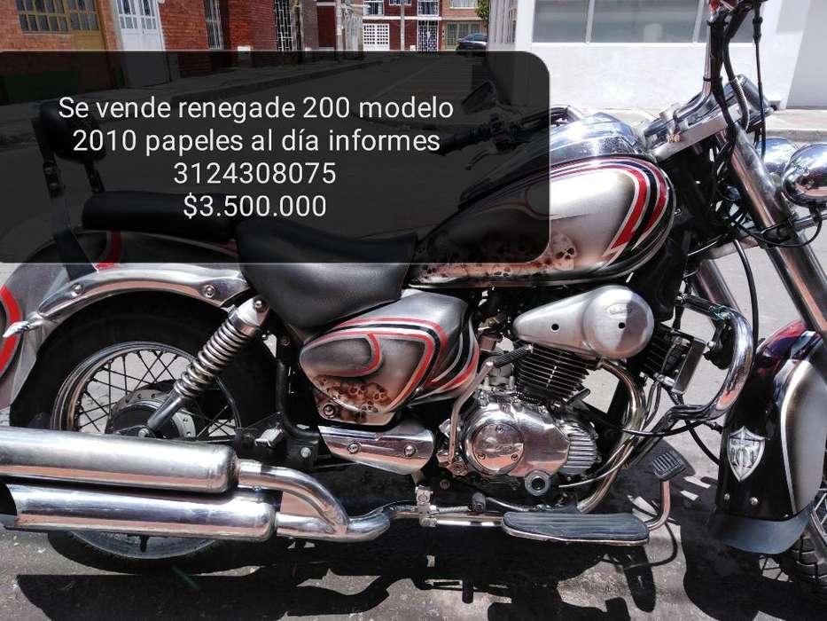Renegade 200 Edición Limitada