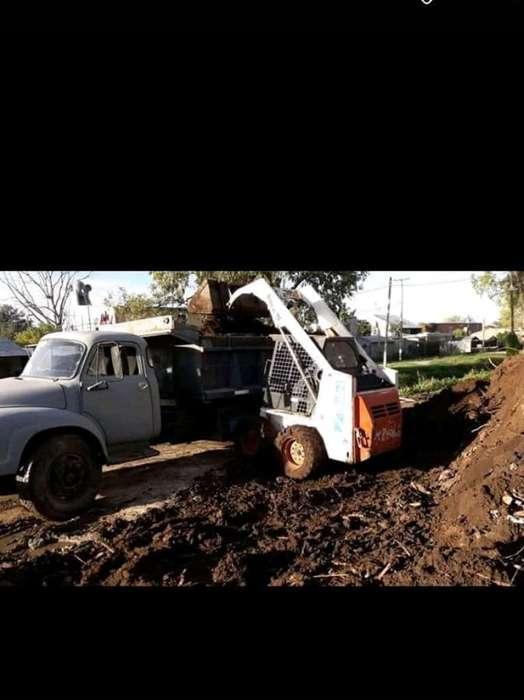 Camion Máquina Bobcat