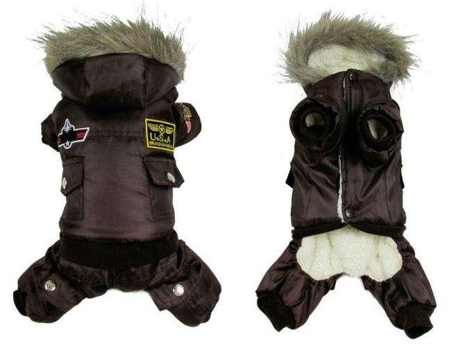 Chaqueta de Moda para Perro Mediano abriga bien para invierno