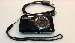 Vendo Camara Samsung Pl120 Doble Pantalla 14.2mp 5x Zoom Optico