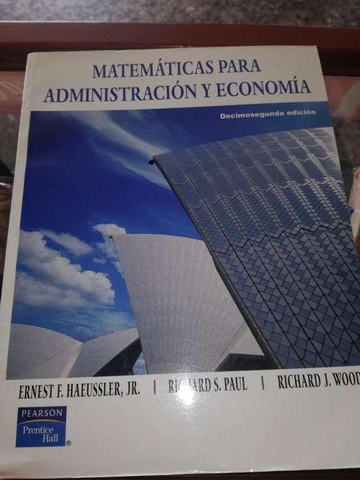 Libro de Matemáticas para Administracion