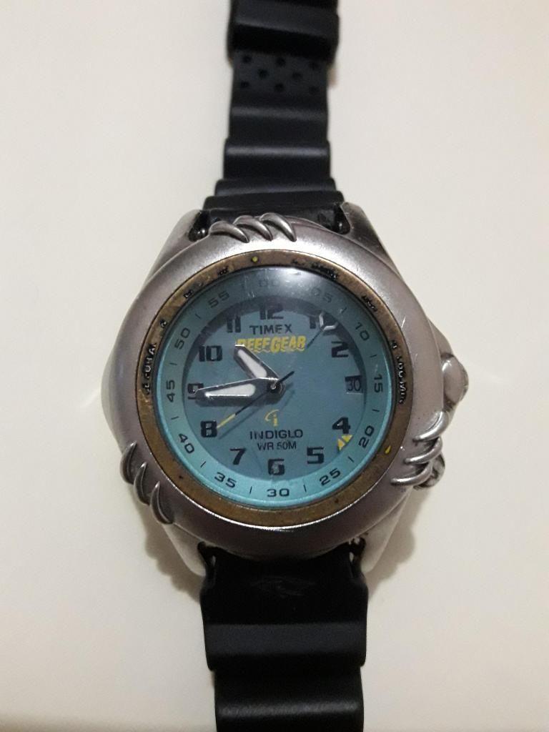 reloj timex reef gear indiglo 50m Lima