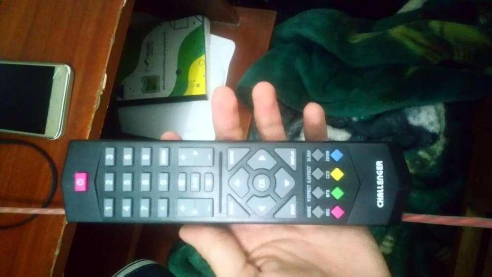 Control de tv challenguer original