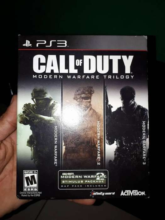 Juego Call of Duty 3 en 1 para PS3