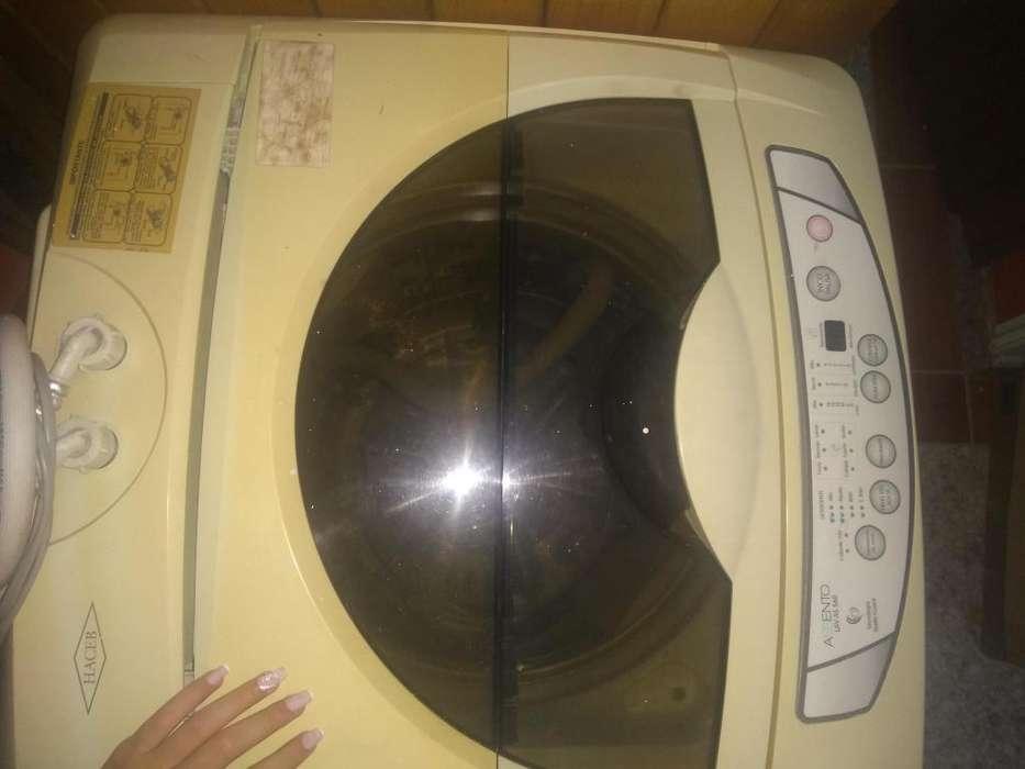 Lavadora marca haceb