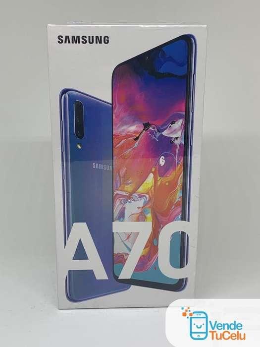 Samsung Galaxy A70 • Puedes Dejar tu Celular en Parte de Pago • VendeTuCelu