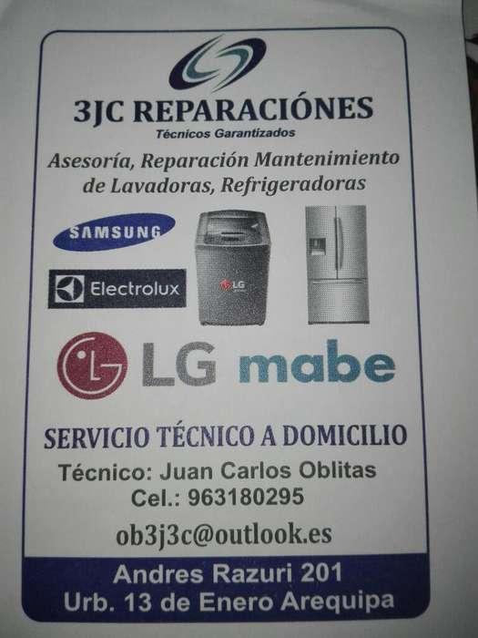 Servicio Tecnico a Domicilio de Lavadora