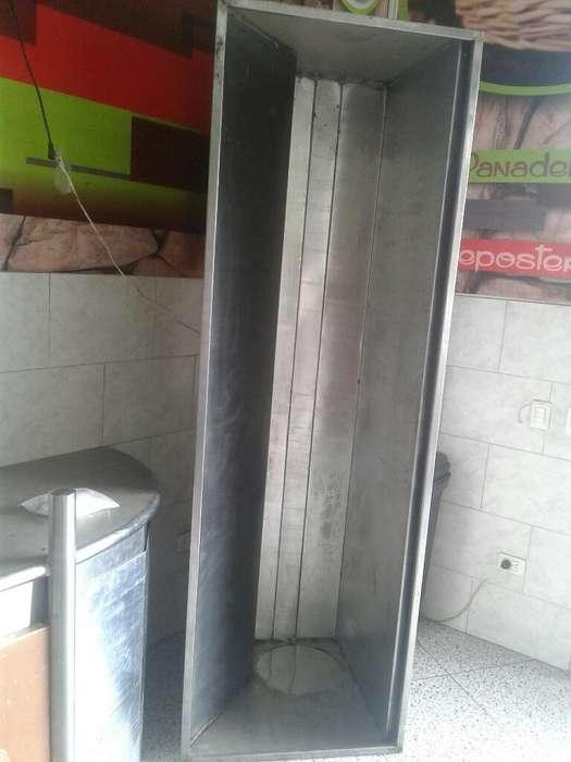 Campana en Acero 230 Cm