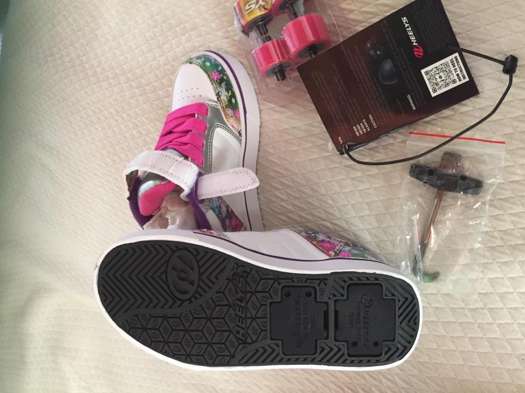 Zapatos patn con luz helizz nia