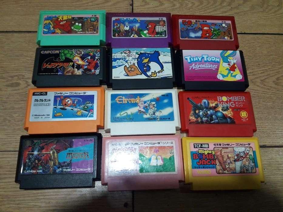 Juegos Famicom a La Venta